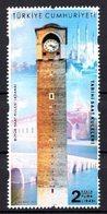 2019 TURKEY HISTORICAL CLOCK TOWERS MNH ** - 1921-... Republic