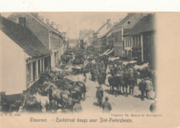 BELGIQUE )) THOROUT / THOUROUT    Suidstraat Daags Voor Sint Pietersfeeste - Torhout