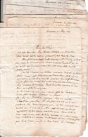 """Mars à Déc. 1819 - Collège Royal TOULOUSE - Corresp. 10 Lettres D'un Enfant à Son """"Papa"""" - Documents Historiques"""