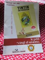 """LE PETIT VINGT ET UNIEME""""tintin En Vosgien""""tintin En Lorraine""""L'effère Tournesol""""2008""""Patois - Tintin"""