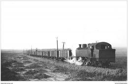 Photo Jacques H. Renaud Format CPA Le Train Ligne Boisleux Marquion - France