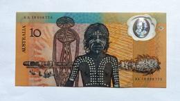 AUSTRALIE - BILLET DE 10 Dollars 1988  - NC - Dans Sa Fourre Cartonnée - Emissions Gouvernementales Décimales 1966-...