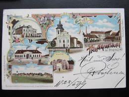 AK TRAUTMANNSDORF B. Bruck A.d. Leitha Litho Schwidernoch 1899////  D*44294 - Bruck An Der Leitha