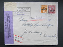 BRIEF München - Judenburg 1920 Zensur ///  D*44298 - Storia Postale