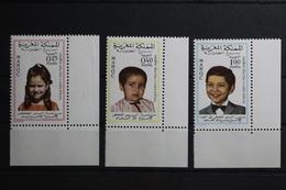 Marokko 632-634 ** Postfrisch #TL815 - Marokko (1956-...)