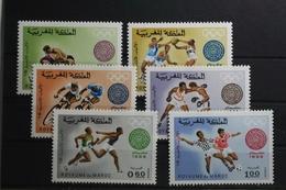 Marokko 635-640 ** Postfrisch Olympische Spiele #TL817 - Marokko (1956-...)