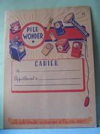 "PROTEGE-CAHIER. PUBLICITE ""PILE WONDER"". 101_0025CPLT.MELU - Protège-cahiers"