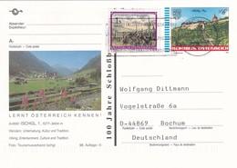 Austria 1994 Postal Stationery Card ISCHGL Architecture Castle Schlossberg Graz; Lion Löwe; Church Tourism Lake - Entiers Postaux