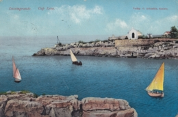 AK - Kroatien Lussingrande (Veli Losinj) - Segler Vor D. Cap Leva - 1910 - Croazia