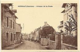 CPA Soursac Avenue De La Poste - Other Municipalities