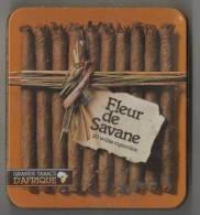 Boîte à Cigares Vide    Fleur De Savane  20 Cigarillos  Tabac D'Afrique - Around Cigars