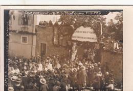 43 MONTFAUCON En VELAY Carte-Photo 22 Août 1920 Couronnement Notre-Dame De Montfaucon - Montfaucon En Velay