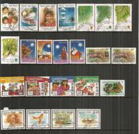 Année Complète 1989 , 23 Timbres Oblitérés Christmas Island, 1 ère Qualité,  Côte  48 Euro - Christmas Island