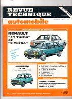 140520/// REVUE TECHNIQUE RENAULT 9 TURBO ET 11 TURBO - Auto