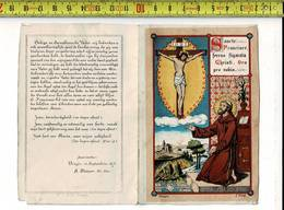 55261 -  25 JARIG BESTAAN H. EN SERAPHIENCHEN VADER FRANCISCUS BRUGGE 1850 - 1875 - Imágenes Religiosas