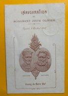 12402 -  Inauguration Du Monument Juste Olivier Eysins 5 Octobre 1907 Oblitérée Eysins 21.10.1907 - VD Waadt