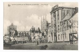 Leuven Le Vieux Marché 1914 Les Ruines PK Louvain CPA - Leuven