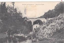 43 MONTFAUCON En VELAY Le Pont De La Vache Sur La Dunières Route De St Didier - Montfaucon En Velay