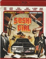 DVD Blu Ray Sushi Girl - Acción, Aventura