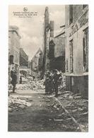 Leuven Rue De Paris Les Ruines PK Louvain Incendié Par Les Allemands En Août 1914 CPA - Leuven