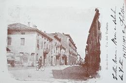 Cartolina Bussoleno - Via Del Traforo - 1909 - Italie