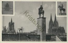 Köln Am Rhein - Kürassierdenkmal [Z04-0.162 - Allemagne