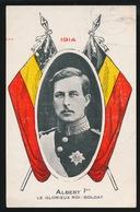 ALBERT 1er  1914  LE GLORIEUX ROI SOLDAT - Guerre 1914-18