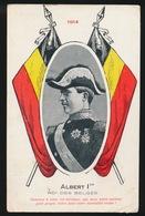 ALBERT 1er  1914  ROI DES BELGES - Guerre 1914-18