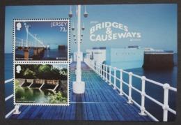 Jersey    Europa  Cept   Brücken   2018    ** - 2018