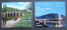 Kroatien    Europa Cept   Brücken   2018    ** - 2018