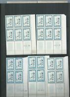 Maroc. Série Mohamed V ** En Blocs Dont 22 Coins Datés . Cote 268€ - Maroc (1956-...)