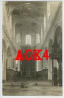 62 LENS Eglise Saint Leger Ruine Interieur Autel Chaire 1916 1917 Nordfrankreich - Lens