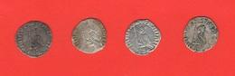 Venezia Soldino Doge Francesco Dandolo 4 Monete Silver Coins - Regional Coins