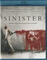 DVD Blu Ray   Sinister - Horror