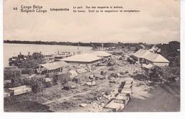 CONGO BELGE(LEOPOLDVILLE) ENTIER POSTAL(ATELIER) - Kinshasa - Léopoldville