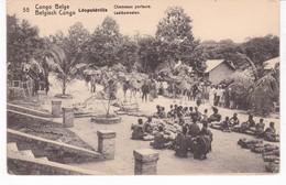 CONGO BELGE(LEOPOLDVILLE) ENTIER POSTAL - Kinshasa - Léopoldville