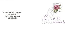 Czech Rep. Cover Lazne Bohdanec ... Ak595 - Lettres & Documents