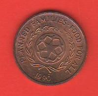 Tonga 2 Centesimi Seniti Fao 1990 - Tonga