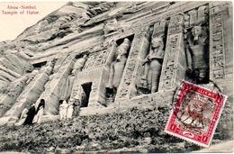 EGYPTE  ABOU SIMBEL  TEMPLE OF HATOR - Temples D'Abou Simbel