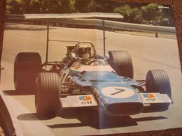 Poster/affiche, J. Stewart Matra 1968.56 X 41 Cms. TBE. - Car Racing - F1