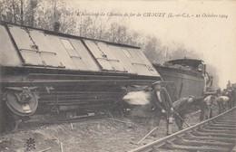 Chouzy. 570. L'Accident De Chemin De Fer. 21 Octobre 1904 - Otros Municipios