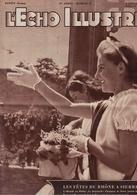 L'Echo Illustré 1948  - Valais Fêtes Du Rhône à Sierre - Tibet Religion - Varsovie - Neuchâtel Centenaire Beguin - Dewey - Boeken, Tijdschriften, Stripverhalen