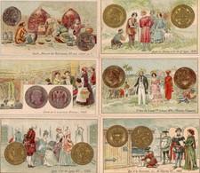 Chocolat L Union 6 Chromos Monnaie - Autres