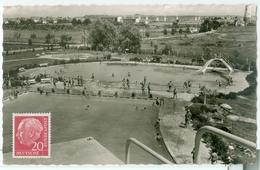 Kehl 1959; Schwimmbad - Gelaufen.  (Cramer - Dortmund) - Kehl