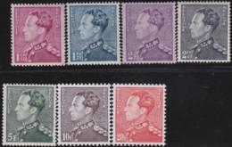 Belgie     .    OBP   .   429/435   .     **      .    Postfris   .   /   .   Neuf SANS Charniere - Unused Stamps