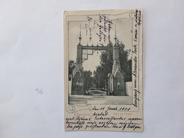 WARSCHAU PARK NA PRADZE MET SPECIALE AFSTEMPELING 1901 - Polen