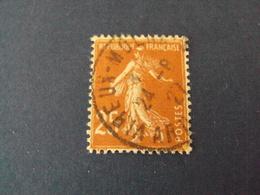 """1922-26-Oblitéré  N°  235 """"SEMEUSE, 25c Bistre """" Net 0.50   """" Vireux-molhan,ardennes    """"  Photo    6 - 1903-60 Semeuse Lignée"""