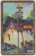 COSTA  RICA -  Así Es Mi Tierra. Tarjeta Típica 4 (1st Edition), Tirage 350,000, 04/99, Used - Costa Rica