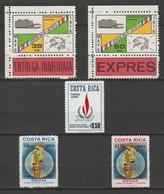COSTA RICA  UPU ; Unicef ; Droits De L'Homme 1970 à 1971  AERO  ( Poste Aerienne ) - Costa Rica