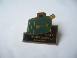 PIN'S PINS ECOLE DU BIEF DU MOULIN 21600 LONGVIC  21 COTE D'OR - Administrations